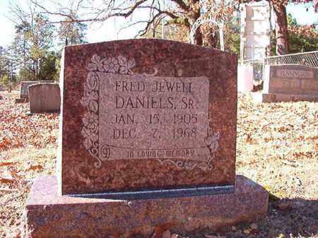 DANIELS, SR, FRED JEWELL - Dallas County, Arkansas   FRED JEWELL DANIELS, SR - Arkansas Gravestone Photos