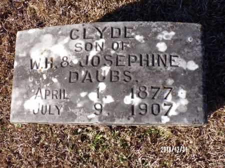 DAUBS, CLYDE - Dallas County, Arkansas | CLYDE DAUBS - Arkansas Gravestone Photos