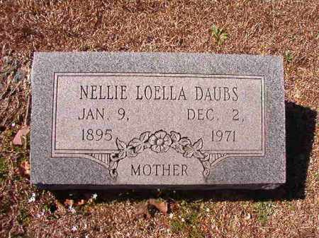 DAUBS, NELLIE LOELLA - Dallas County, Arkansas | NELLIE LOELLA DAUBS - Arkansas Gravestone Photos