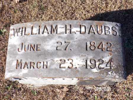 DAUBS, WILLIAM H - Dallas County, Arkansas | WILLIAM H DAUBS - Arkansas Gravestone Photos