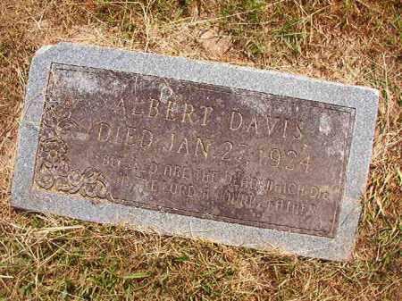DAVIS, ALBERT - Dallas County, Arkansas   ALBERT DAVIS - Arkansas Gravestone Photos