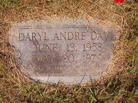 DAVIS, DARYL ANDRE - Dallas County, Arkansas | DARYL ANDRE DAVIS - Arkansas Gravestone Photos