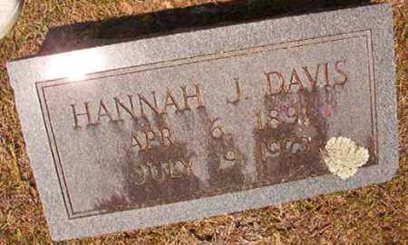 DAVIS, HANAH J - Dallas County, Arkansas | HANAH J DAVIS - Arkansas Gravestone Photos