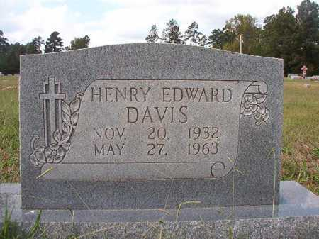 DAVIS, HENRY EDWARD - Dallas County, Arkansas | HENRY EDWARD DAVIS - Arkansas Gravestone Photos
