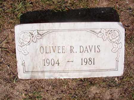 DAVIS, OLIVEE R - Dallas County, Arkansas | OLIVEE R DAVIS - Arkansas Gravestone Photos