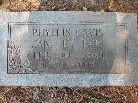 DAVIS, PHYLLIS - Dallas County, Arkansas | PHYLLIS DAVIS - Arkansas Gravestone Photos