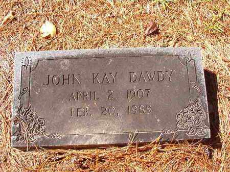 DAWDY, JOHN KAY - Dallas County, Arkansas | JOHN KAY DAWDY - Arkansas Gravestone Photos