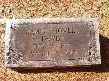 DAWDY, JAMES HOWELL - Dallas County, Arkansas | JAMES HOWELL DAWDY - Arkansas Gravestone Photos