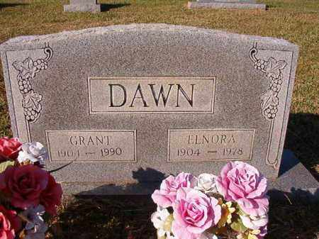 DAWN, GRANT - Dallas County, Arkansas | GRANT DAWN - Arkansas Gravestone Photos