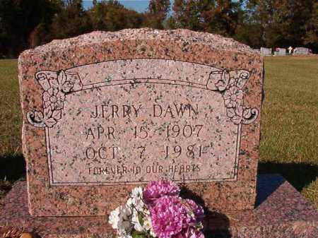 DAWN, JERRY - Dallas County, Arkansas | JERRY DAWN - Arkansas Gravestone Photos
