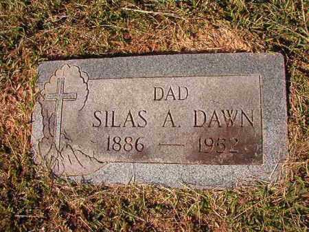 DAWN, SILAS AUGUSTUS - Dallas County, Arkansas | SILAS AUGUSTUS DAWN - Arkansas Gravestone Photos