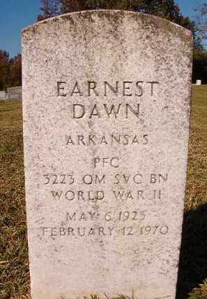 DAWN (VETERAN WWII), EARNEST - Dallas County, Arkansas | EARNEST DAWN (VETERAN WWII) - Arkansas Gravestone Photos