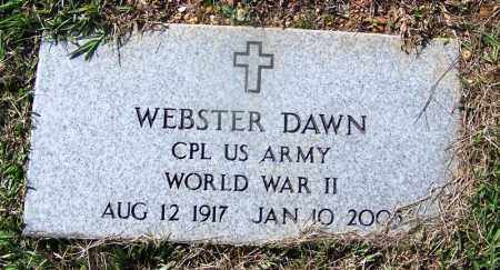 DAWN (VETERAN WWII), WEBSTER - Dallas County, Arkansas | WEBSTER DAWN (VETERAN WWII) - Arkansas Gravestone Photos