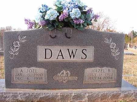 DAWS, A JOEL - Dallas County, Arkansas | A JOEL DAWS - Arkansas Gravestone Photos