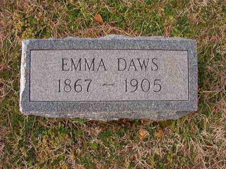DAWS, EMMA - Dallas County, Arkansas | EMMA DAWS - Arkansas Gravestone Photos