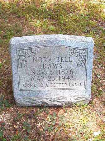 DAWS, NORA BELL - Dallas County, Arkansas | NORA BELL DAWS - Arkansas Gravestone Photos