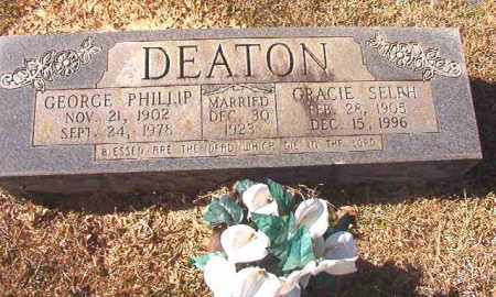 DEATON, GEORGE PHILLIP - Dallas County, Arkansas | GEORGE PHILLIP DEATON - Arkansas Gravestone Photos