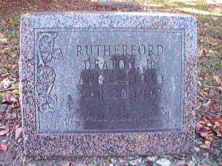 DEATON, JR, RUTHERFORD - Dallas County, Arkansas | RUTHERFORD DEATON, JR - Arkansas Gravestone Photos