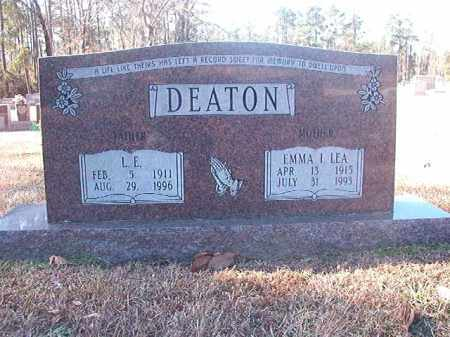 LEA DEATON, EMMA I - Dallas County, Arkansas | EMMA I LEA DEATON - Arkansas Gravestone Photos