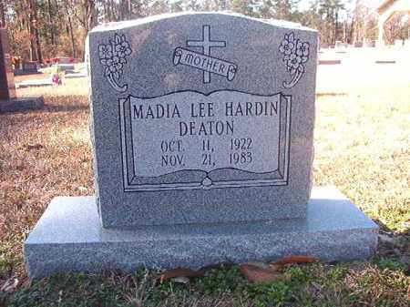 HARDIN DEATON, MADIA LEE - Dallas County, Arkansas | MADIA LEE HARDIN DEATON - Arkansas Gravestone Photos