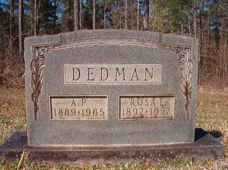 DEDMAN, A P - Dallas County, Arkansas | A P DEDMAN - Arkansas Gravestone Photos
