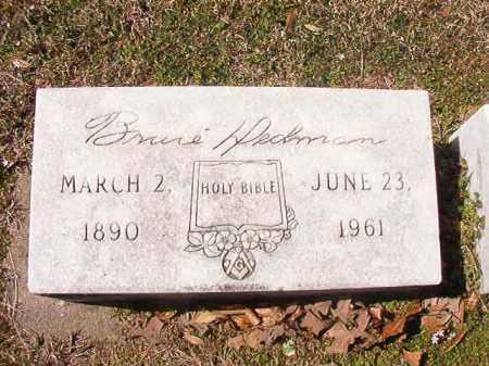 DEDMAN, BRUCE - Dallas County, Arkansas | BRUCE DEDMAN - Arkansas Gravestone Photos