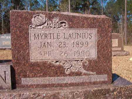 LAUNIUS DEDMAN, MYRTLE - Dallas County, Arkansas | MYRTLE LAUNIUS DEDMAN - Arkansas Gravestone Photos
