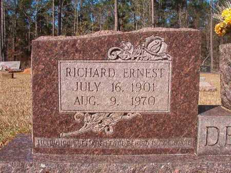 DEDMAN, RICHARD ERNEST - Dallas County, Arkansas | RICHARD ERNEST DEDMAN - Arkansas Gravestone Photos