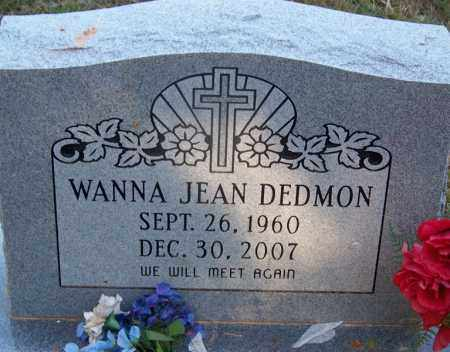 DEDMON, WANNA JEAN - Dallas County, Arkansas | WANNA JEAN DEDMON - Arkansas Gravestone Photos