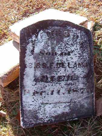 DELAMAR, JAMES H - Dallas County, Arkansas | JAMES H DELAMAR - Arkansas Gravestone Photos
