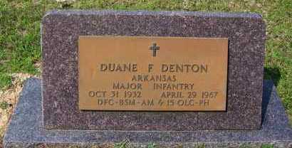 DENTON (VETERAN VIET), DUANE F - Dallas County, Arkansas | DUANE F DENTON (VETERAN VIET) - Arkansas Gravestone Photos