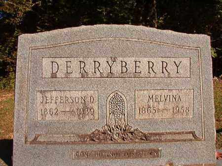 DERRYBERRY, MELVINA - Dallas County, Arkansas | MELVINA DERRYBERRY - Arkansas Gravestone Photos