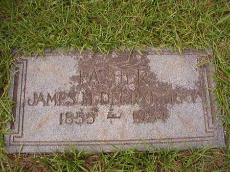DERRYBERRY, JAMES M - Dallas County, Arkansas | JAMES M DERRYBERRY - Arkansas Gravestone Photos
