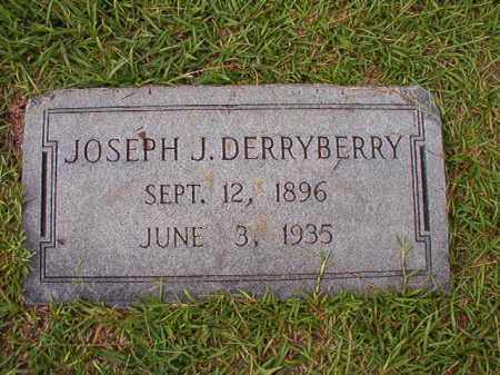 DERRYBERRY, JOSEPH J - Dallas County, Arkansas | JOSEPH J DERRYBERRY - Arkansas Gravestone Photos