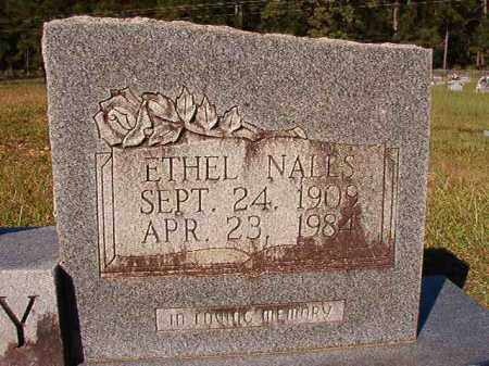 NALLS DICKEY, ETHEL - Dallas County, Arkansas | ETHEL NALLS DICKEY - Arkansas Gravestone Photos