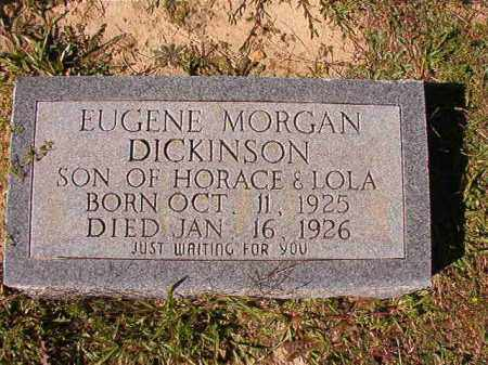DICKINSON, EUGENE MORGAN - Dallas County, Arkansas | EUGENE MORGAN DICKINSON - Arkansas Gravestone Photos