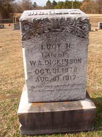 DICKINSON, LUCY H - Dallas County, Arkansas | LUCY H DICKINSON - Arkansas Gravestone Photos