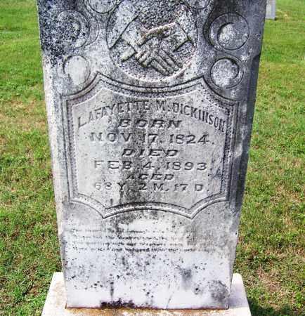 DICKINSON, LAFAYETTE M - Dallas County, Arkansas   LAFAYETTE M DICKINSON - Arkansas Gravestone Photos
