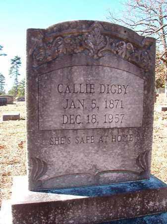 DIGBY, CALLIE - Dallas County, Arkansas | CALLIE DIGBY - Arkansas Gravestone Photos