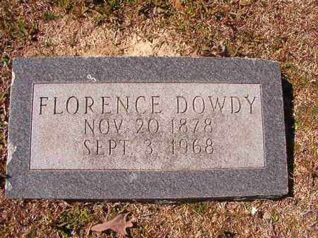 DOWDY, FLORENCE - Dallas County, Arkansas | FLORENCE DOWDY - Arkansas Gravestone Photos