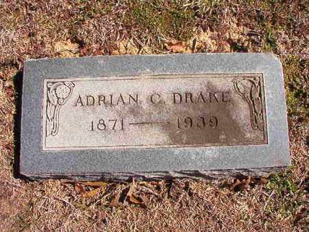 DRAKE, ADRIAN C - Dallas County, Arkansas | ADRIAN C DRAKE - Arkansas Gravestone Photos