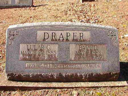 DRAPER, BART D - Dallas County, Arkansas | BART D DRAPER - Arkansas Gravestone Photos