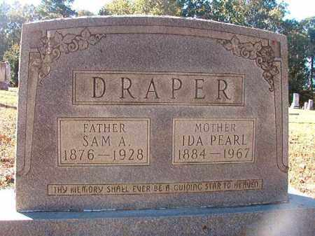 DRAPER, SAM A - Dallas County, Arkansas | SAM A DRAPER - Arkansas Gravestone Photos