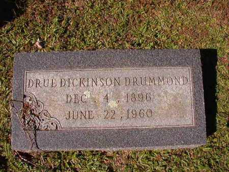 DICKINSON DRUMMOND, DRUE - Dallas County, Arkansas | DRUE DICKINSON DRUMMOND - Arkansas Gravestone Photos