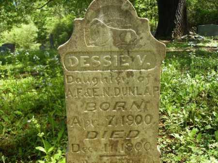 DUNLAP, DESSIE V - Dallas County, Arkansas | DESSIE V DUNLAP - Arkansas Gravestone Photos