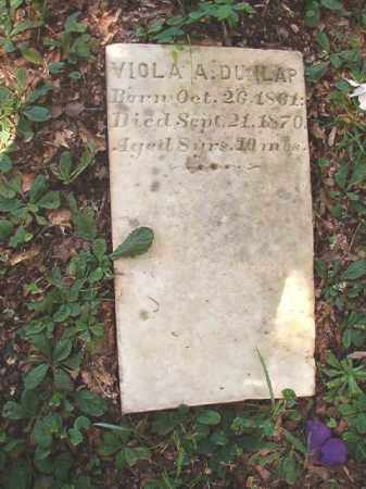 DUNLAP, VIOLA A - Dallas County, Arkansas | VIOLA A DUNLAP - Arkansas Gravestone Photos