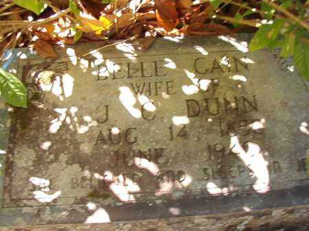 DUNN, BELLE - Dallas County, Arkansas | BELLE DUNN - Arkansas Gravestone Photos
