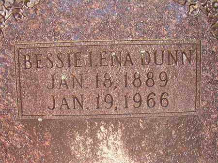 DUNN, BESSIE LENA - Dallas County, Arkansas | BESSIE LENA DUNN - Arkansas Gravestone Photos