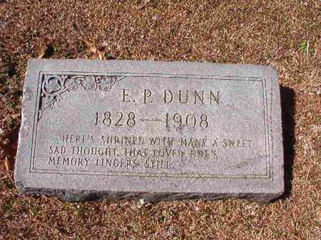 DUNN, E P - Dallas County, Arkansas | E P DUNN - Arkansas Gravestone Photos