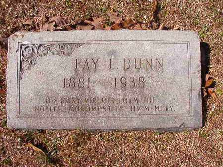DUNN, FAY L (BIO) - Dallas County, Arkansas | FAY L (BIO) DUNN - Arkansas Gravestone Photos